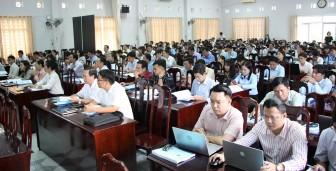 Tập huấn nghiệp vụ kiểm soát thủ tục hành chính và chứng thực bản sao điện tử