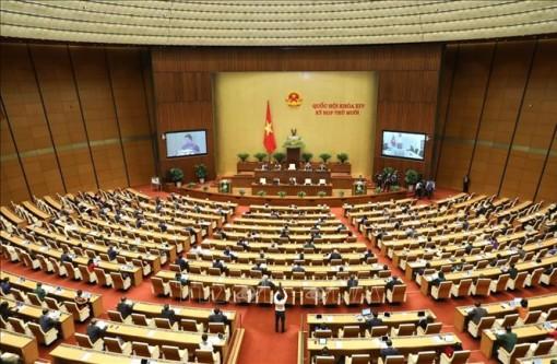 Ngày 21-10, Quốc hội thảo luận dự thảo Luật Cư trú (sửa đổi) và Luật Biên phòng Việt Nam