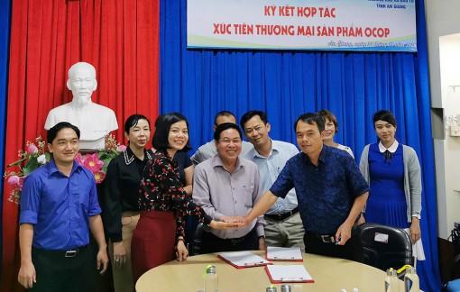 Hợp tác xúc tiến thương mại sản phẩm OCOP giữa An Giang và Đắk Lắk