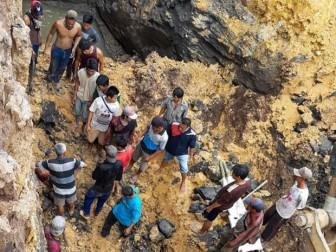 Lở đất tại mỏ than ở Indonesia, 11 người thiệt mạng