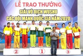 Phát triển võ thuật Wushu