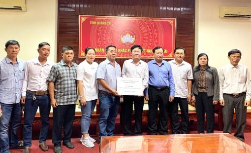 An Giang hỗ trợ tỉnh Quảng Trị 50 tấn gạo khắc phục hậu quả thiên tai