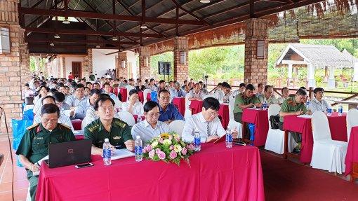 An Giang phổ biến kiến thức quốc phòng - an ninh cho người dân biên giới