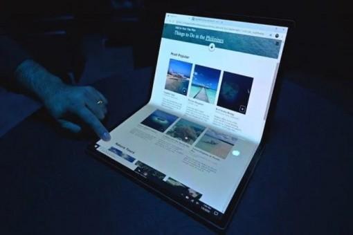 Samsung, Intel và Microsoft phát triển laptop màn hình gập