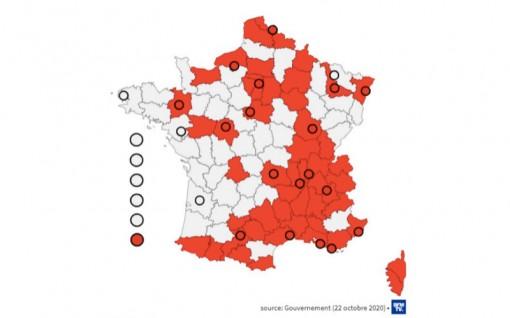 Hơn 41 nghìn ca nhiễm mới, Pháp mở rộng lệnh giới nghiêm ở 38 tỉnh khác