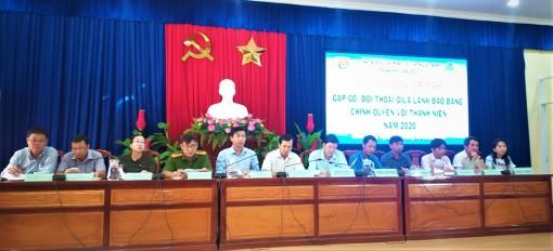 Châu Đốc: Gặp gỡ, đối thoại giữa lãnh đạo Đảng, chính quyền với thanh niên