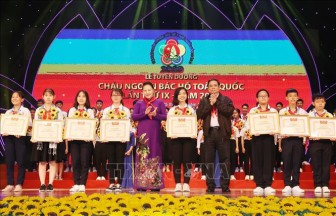 Đại hội Cháu ngoan Bác Hồ toàn quốc lần thứ IX: Vinh danh những 'bông hoa nghìn việc tốt'