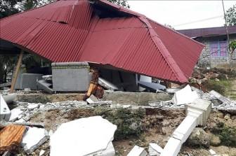 Indonesia lại hứng chịu động đất
