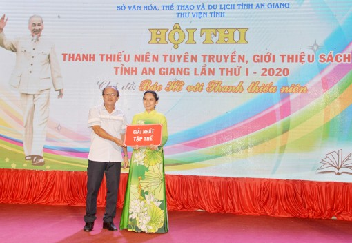 Hội thi Thanh thiếu niên tuyên truyền, giới thiệu sách tỉnh An Giang