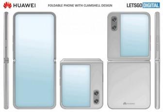 Huawei phát triển điện thoại gập với thiết kế vỏ sò