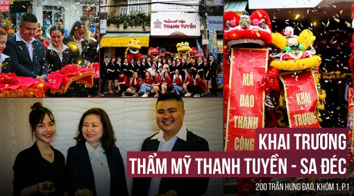 Thẩm mỹ Thanh Tuyền khai trương phòng khám mới tại Sa Đéc