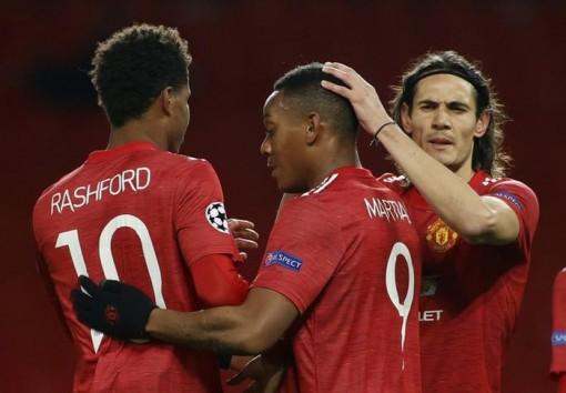 Rashford lập hat-trick vàng, Man United vùi dập 'bò đỏ' RB Leipzig
