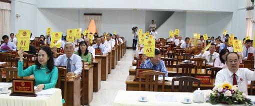 Kỳ họp thứ 17, HĐND tỉnh An Giang khóa IX (nhiệm kỳ 2016-2021) thông qua nhiều nghị quyết quan trọng