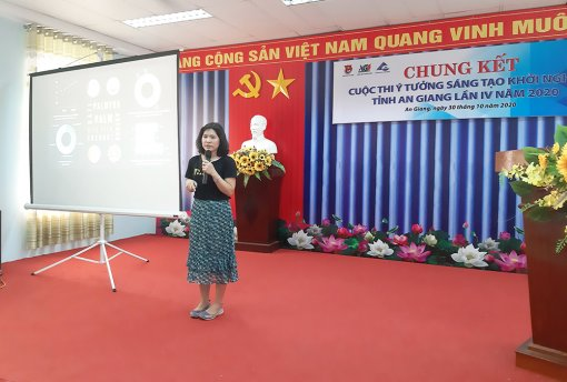 """Vòng chung kết Cuộc thi """"Ý tưởng sáng tạo khởi nghiệp"""" tỉnh An Giang lần thứ IV"""