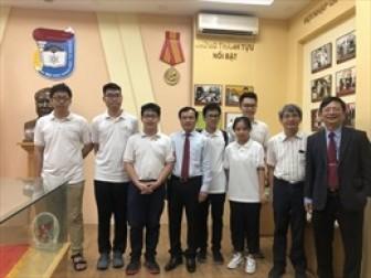 Olympic toán học trực tuyến quốc tế có Việt Nam tham gia sẽ bắt đầu từ ngày 16-11