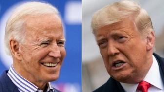 Ông Trump và đối thủ Biden giằng co quyết liệt sát Ngày Bầu cử