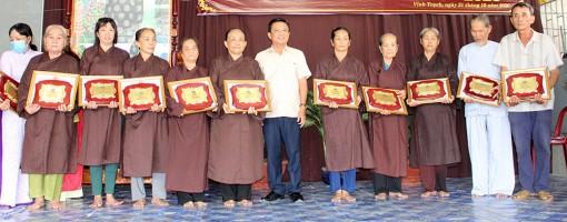Tổng kết 10 năm thành lập Nhà ăn Tình thương xã Vĩnh Trạch