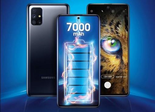 Samsung trình làng smartphone Galaxy M51 trang bị pin 'siêu khủng'