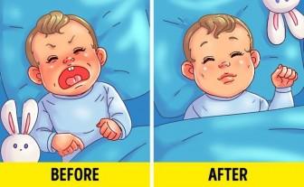 Cách giúp con tự ngủ một mình