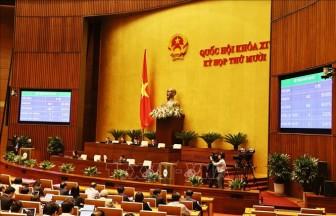Sáng nay 12-11, Quốc hội phê chuẩn việc bổ nhiệm ba thành viên Chính phủ và Thẩm phán Tòa án nhân dân tối cao