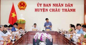 Họp Tổ đại biểu HĐND tỉnh An Giang đơn vị huyện Châu Thành