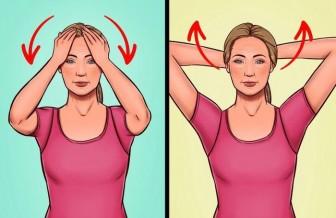 7 bài tập đơn giản giúp bạn loại bỏ nọng cằm hiệu quả