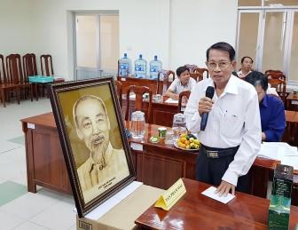 Tranh lá thốt nốt Võ Văn Tạng