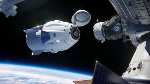 Tàu vũ trụ Crew Dragon kết nối thành công với trạm ISS