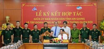 UBND tỉnh An Giang  và Tập đoàn Công nghiệp - Viễn thông Quân đội ký kết Biên bản ghi nhớ hợp tác trong lĩnh vực Viễn thông – Công nghệ thông tin giai đoạn 2020 – 2025