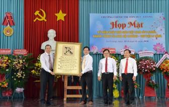 Trường Chính trị Tôn Đức Thắng kỷ niệm ngày Nhà giáo Việt Nam 20-11