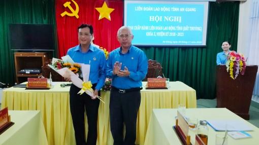 An Giang có Phó Chủ tịch Liên đoàn Lao động tỉnh mới