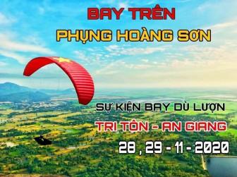 10 giờ, ngày 28-11: Biểu diễn dù lượn ở Tri Tôn