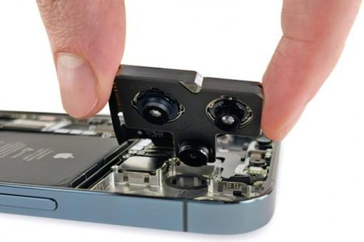 Khám phá cụm camera bên trong mẫu máy iPhone 12 Pro Max