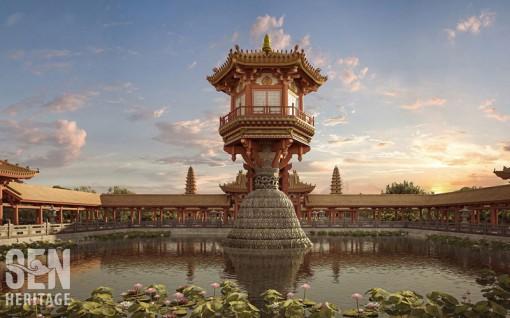 Trải nghiệm di sản kiến trúc thời Lý bằng thực tế ảo