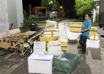 An Giang: Bắt xe tải vận chuyển số lượng lớn hàng nhập lậu