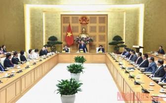 Thủ tướng gặp mặt các doanh nghiệp có sản phẩm đạt Thương hiệu quốc gia Việt Nam