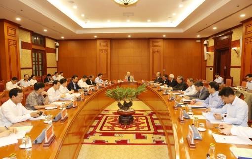 Tổng Bí thư, Chủ tịch nước chủ trì họp Ban Chỉ đạo về chống tham nhũng