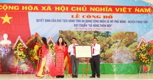 Thăm xã nông thôn mới Mỹ Phú Đông