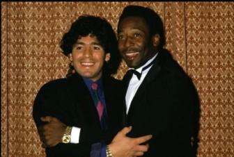 Pele, Messi bàng hoàng tiếc thương huyền thoại Diego Maradona