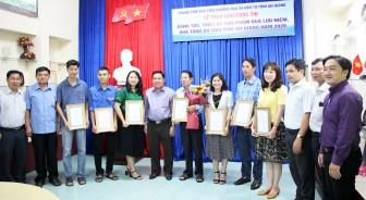 Trao giải sáng tác, thiết kế sản phẩm quà lưu niệm, quà tặng du lịch tỉnh An Giang năm 2020