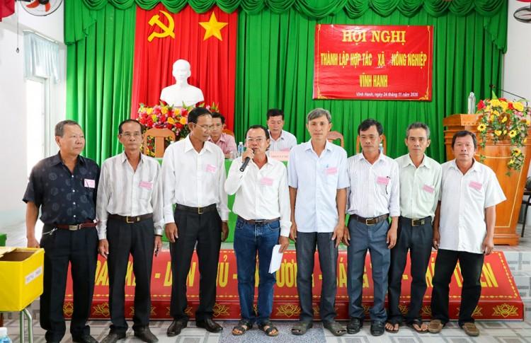 Thành lập Hợp tác xã nông nghiệp Vĩnh Hanh