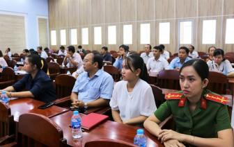 Hội nghị trực tuyến thông tin chuyên đề đạo đức công vụ