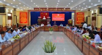 Hội nghị tổng kết hoạt động cụm thi đua UBMTTQ Việt Nam các tỉnh Nam sông Hậu năm 2020