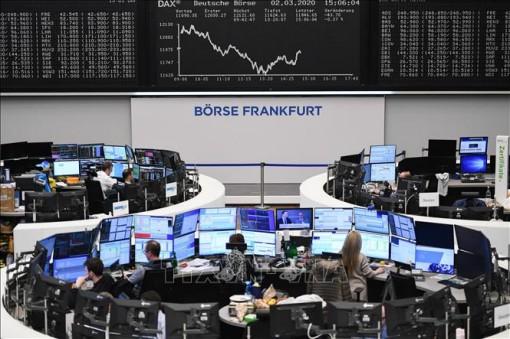 Chứng khoán châu Âu giảm trong phiên 26-11