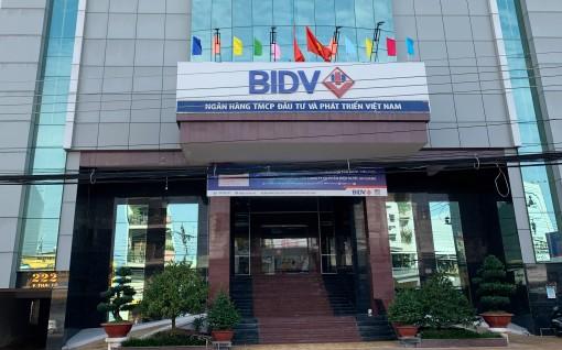 Thông báo thay đổi địa chỉ trụ sợ BIDV chi nhánh An Giang