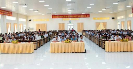 An Phú quán triệt Nghị quyết Đại hội Đảng bộ tỉnh và huyện