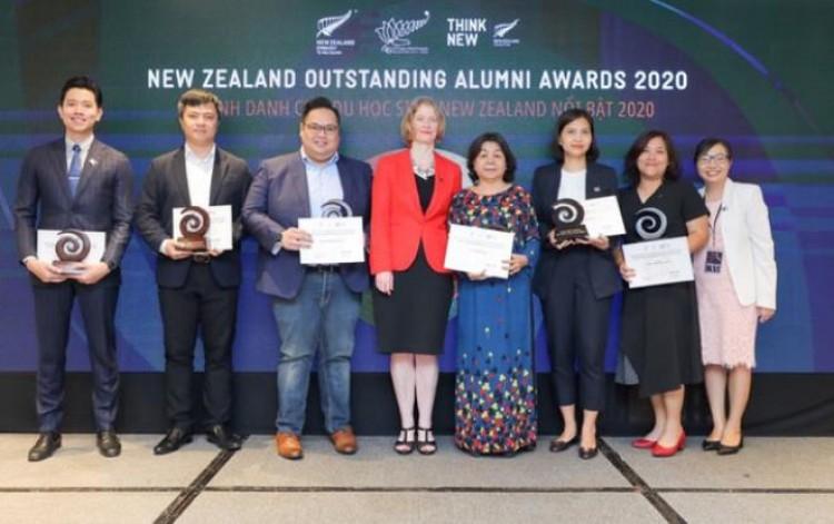 New Zealand vinh danh cựu du học sinh Việt Nam nổi bật năm 2020