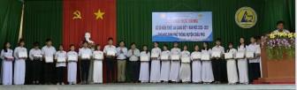 263 học sinh huyện Châu Phú được nhận học bổng xổ số kiến thiết An Giang