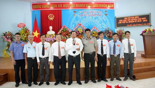 Ông Đặng Văn Tâm tái đắc cử Chủ tịch Hội Luật gia huyện Chợ Mới