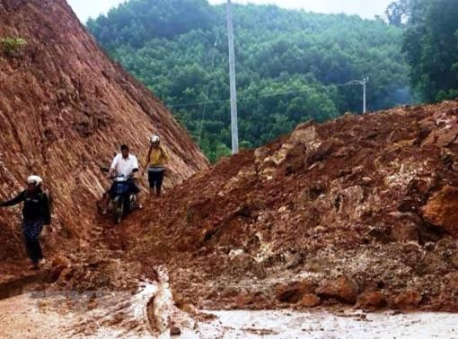 Nguy cơ cao lũ quét, sạt lở đất từ Quảng Bình đến Khánh Hòa
